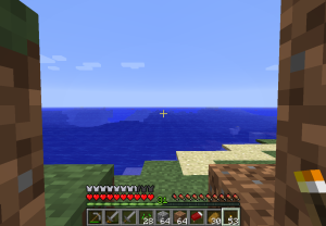 And I think this one is a pretty big ocean.